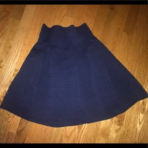 H&M Fit and Flare Knit Skirt